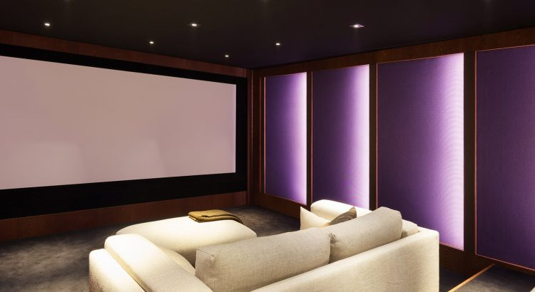 Bespoke Home Cinema installation London