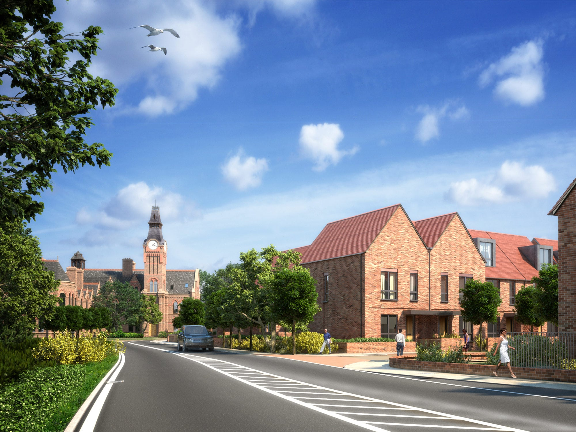 Our Active Project - Barnes Village, Manchester, UK