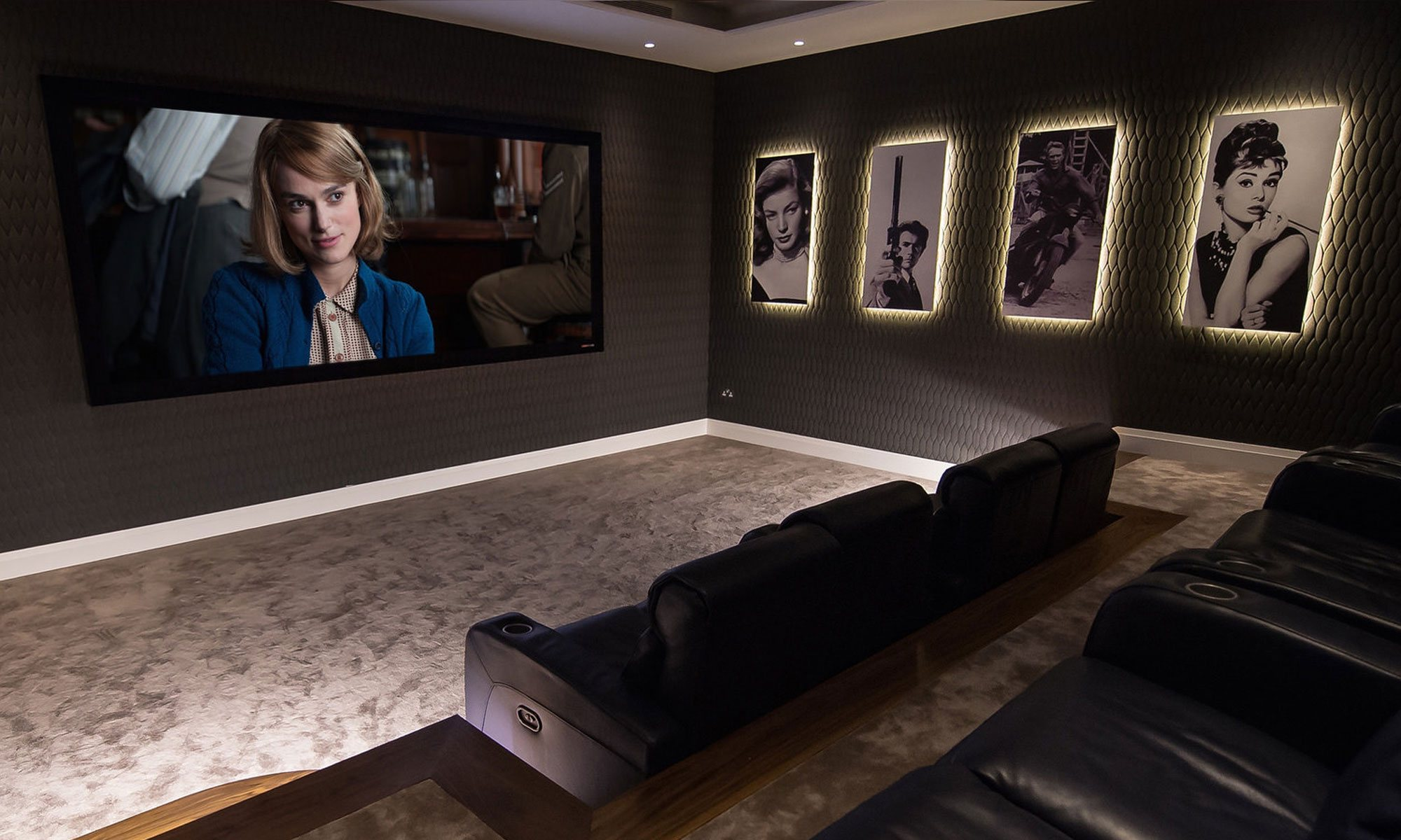 Artcoustic Home Cinema Showroom Interior Designers Automation Technology That Won