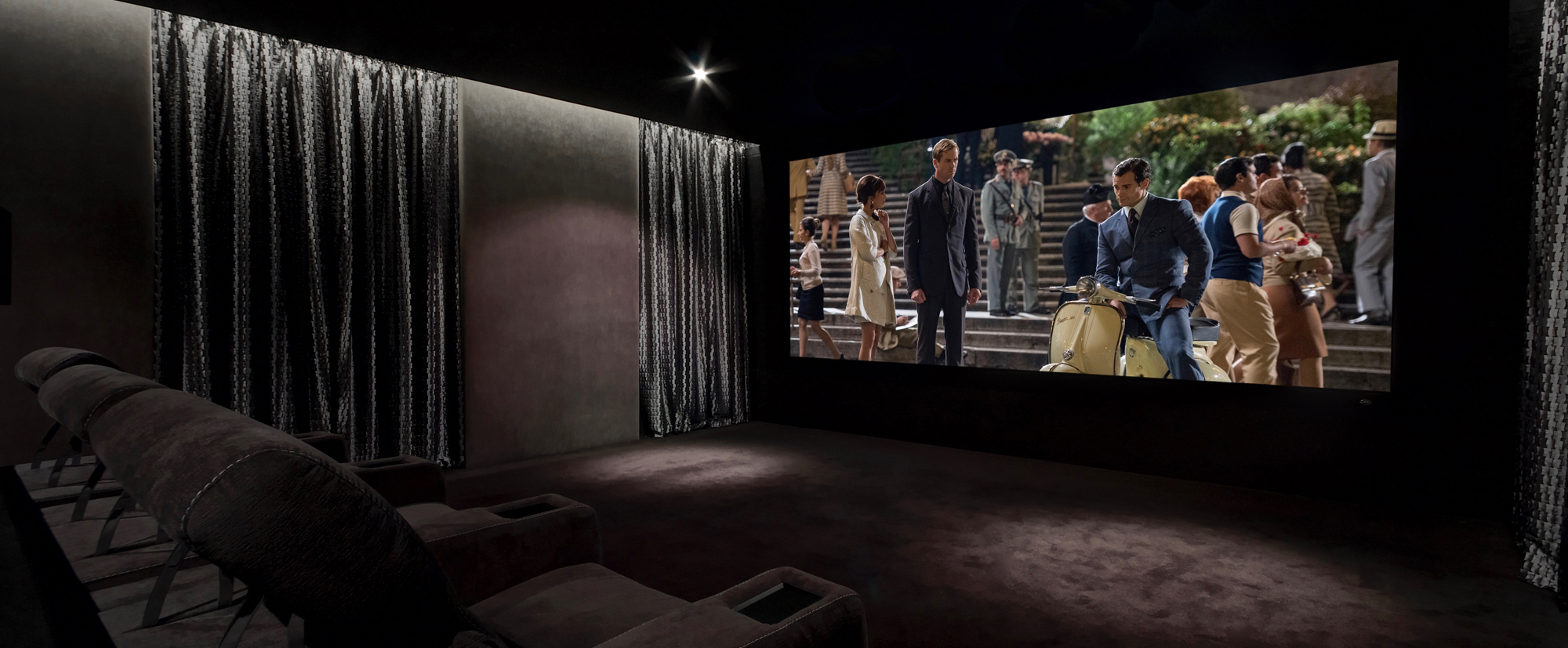 home-cinema-lighting Why 4K UHD Is the Future of Modern Home Cinema Design