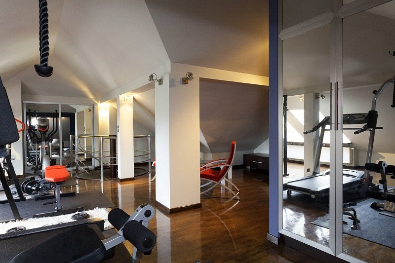 Home-Gym-Automation Turbocharge Your Workouts With a Home Automation Installation for a Fitter, Smarter 2018