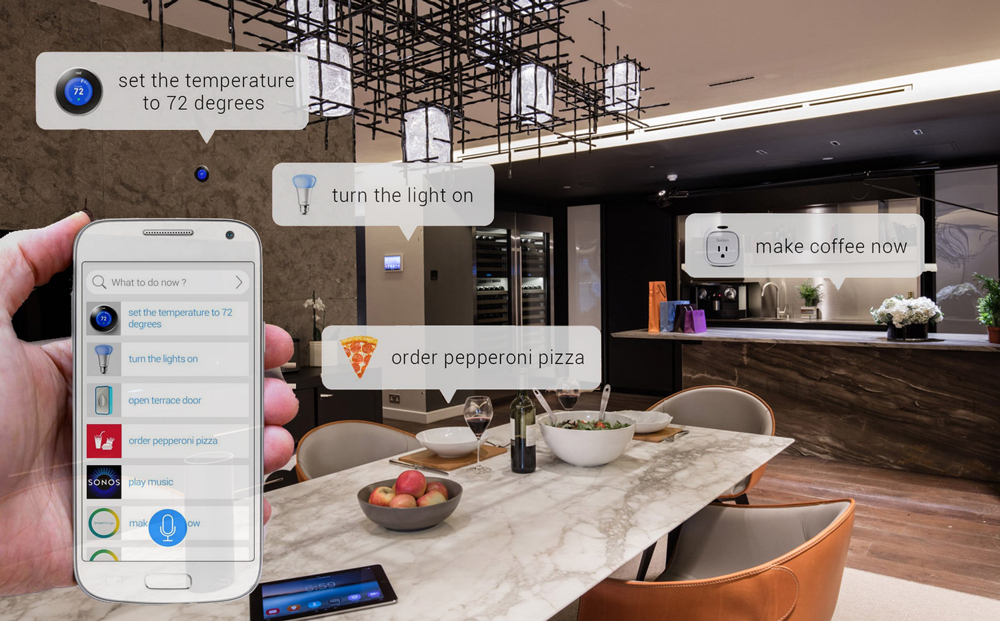 voice-control-over-home Home Automation vs Internet of Things (IoT) vs Connected Home - What are the Differences