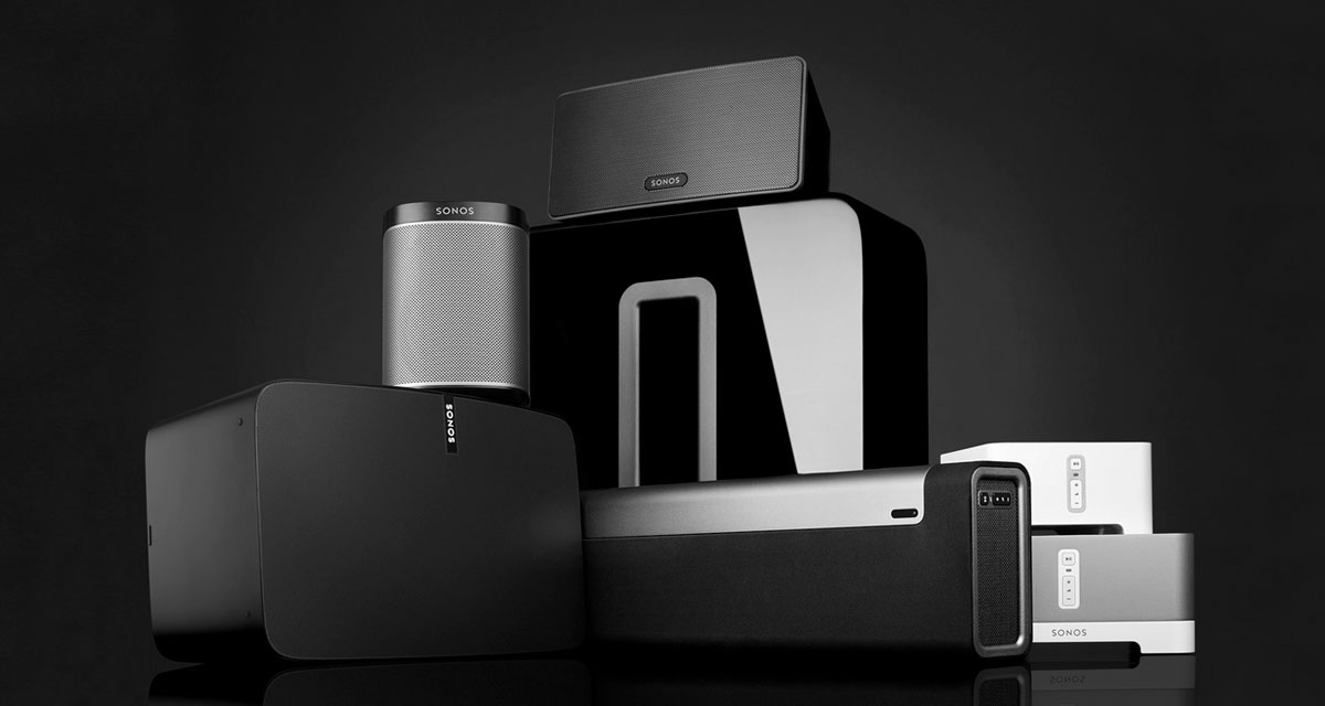 Sonos-speakers 5 Smart Home Brands You May Not Have Heard of (But Absolutely Need in Your Life)