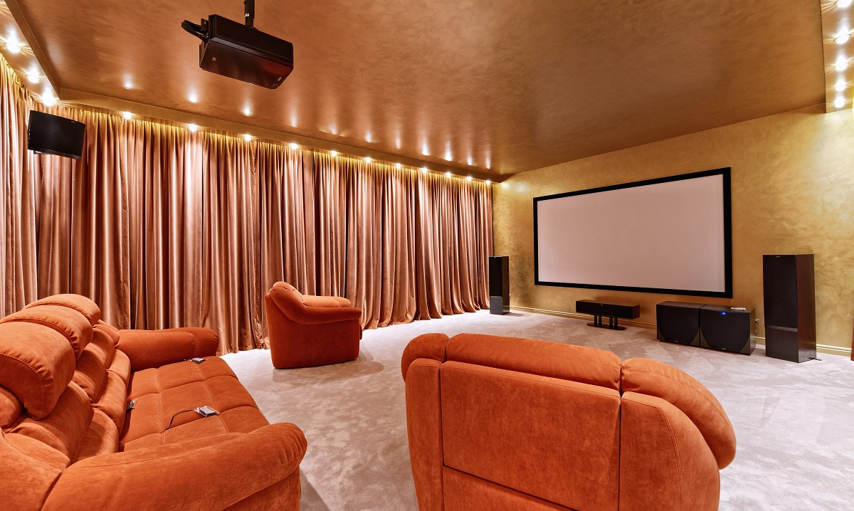 Traditional-Home-Cinema Contemporary or Classic: Introducing a Whole New World of Home Cinema Design