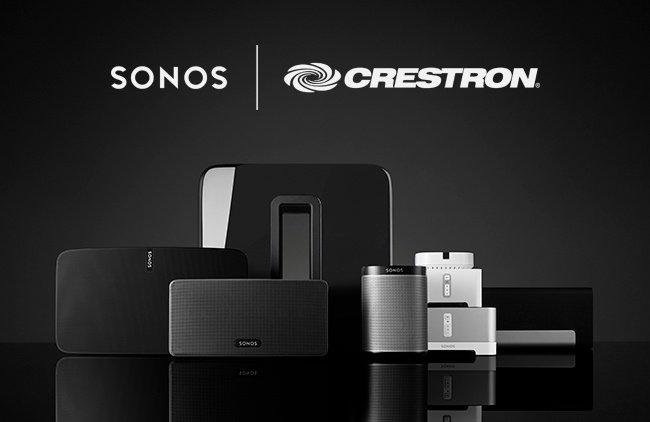 sonos-crestron Crestron Home Automation Trends 2018