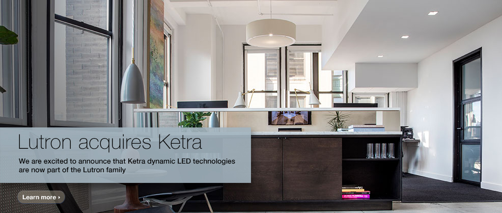 Lutron-Ketra Home automation systems: A guide to the smart home market in 2018
