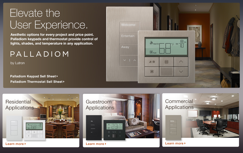 Palladiom Beat Away Those Winter Blues With Smart Lighting From Lutron HomeWorks