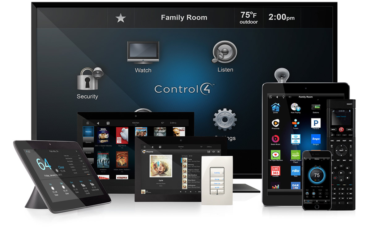 control4 Control4: What's It Like Living In An Automated Bespoke Smart Home