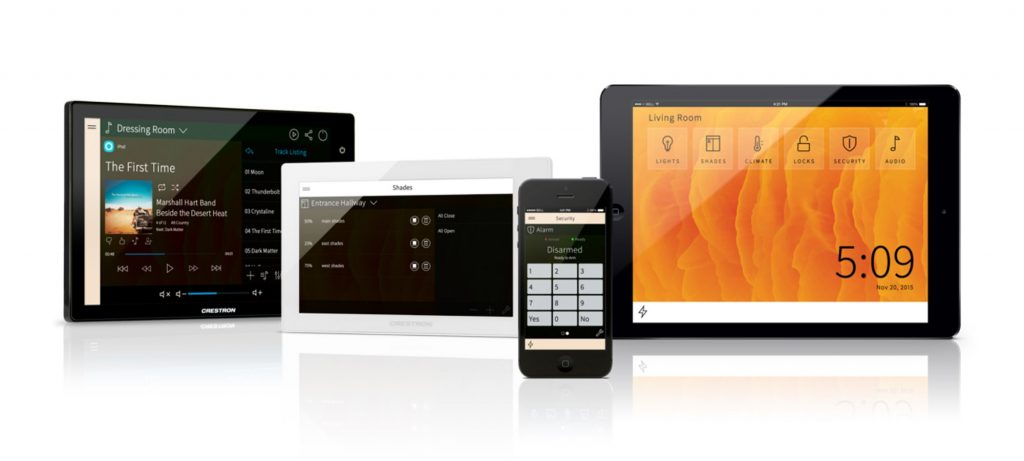 Crestron-Home-Automation-System Home Automation Updates: The Latest and Greatest Innovations from Crestron, Lutron, and Control4