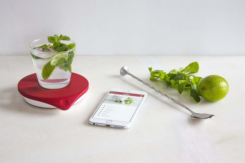 Drop-Connected-Kitchen-Scale Combining Stunning Interior Design with Innovative Smart Technology: The Easier Way to Enjoy the Best of Both Worlds