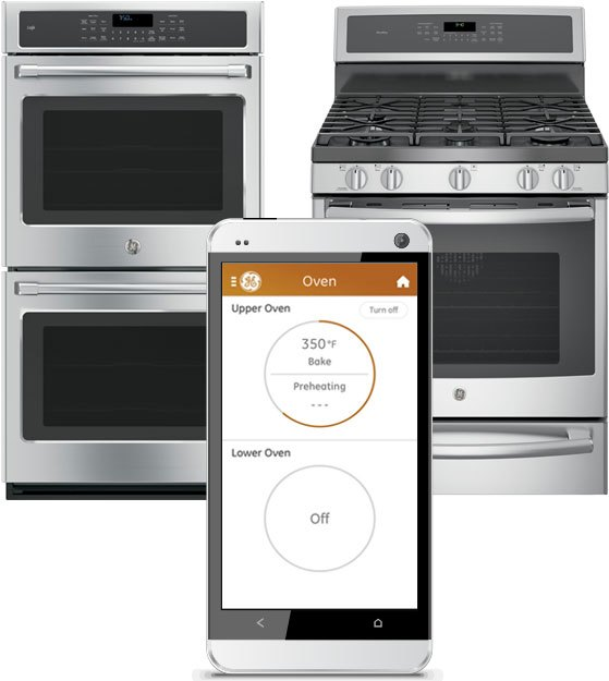 GE-WiFi-Connect-Oven Combining Stunning Interior Design with Innovative Smart Technology: The Easier Way to Enjoy the Best of Both Worlds