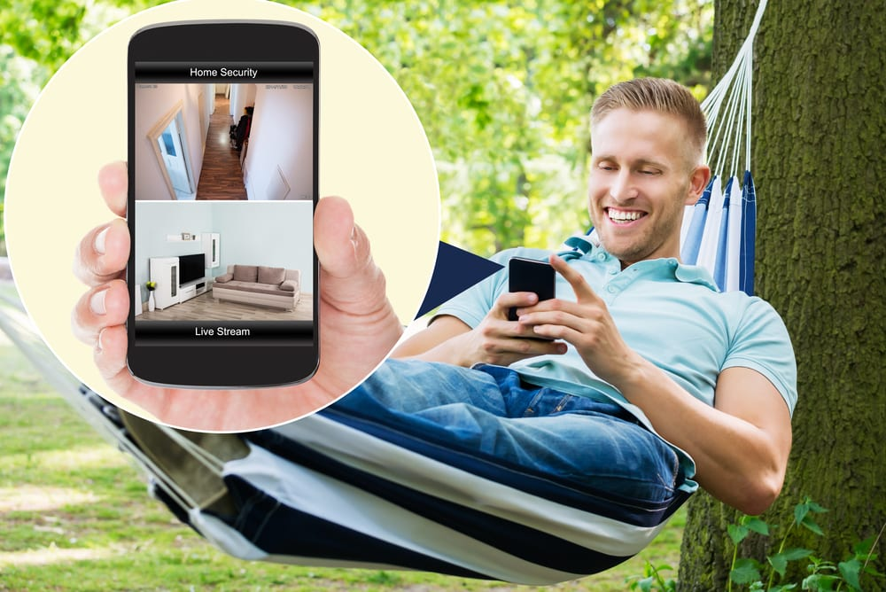 Keep-an-eye-on-home Four Ways Home Automation Can Protect Your Home When You're on Holiday
