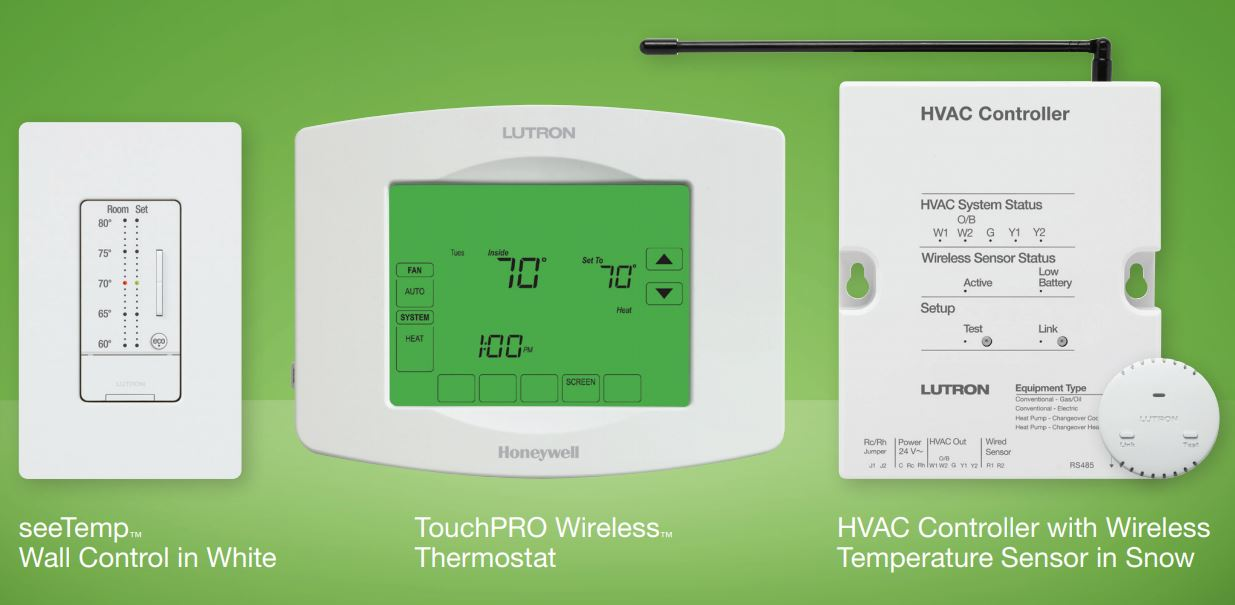 Lutron-TouchPro-Wireless-Thermostat.jpg Your Pre-Winter Home Automation Checklist: Essential Tasks to Prepare Your Smart Home for the Winter Months