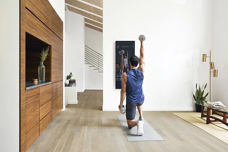 Smart-mirror Five Essential Smart Home Upgrades for Your Workout Space
