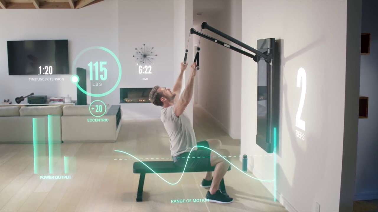 Tonal-Smart-Gym Five Essential Smart Home Upgrades for Your Workout Space