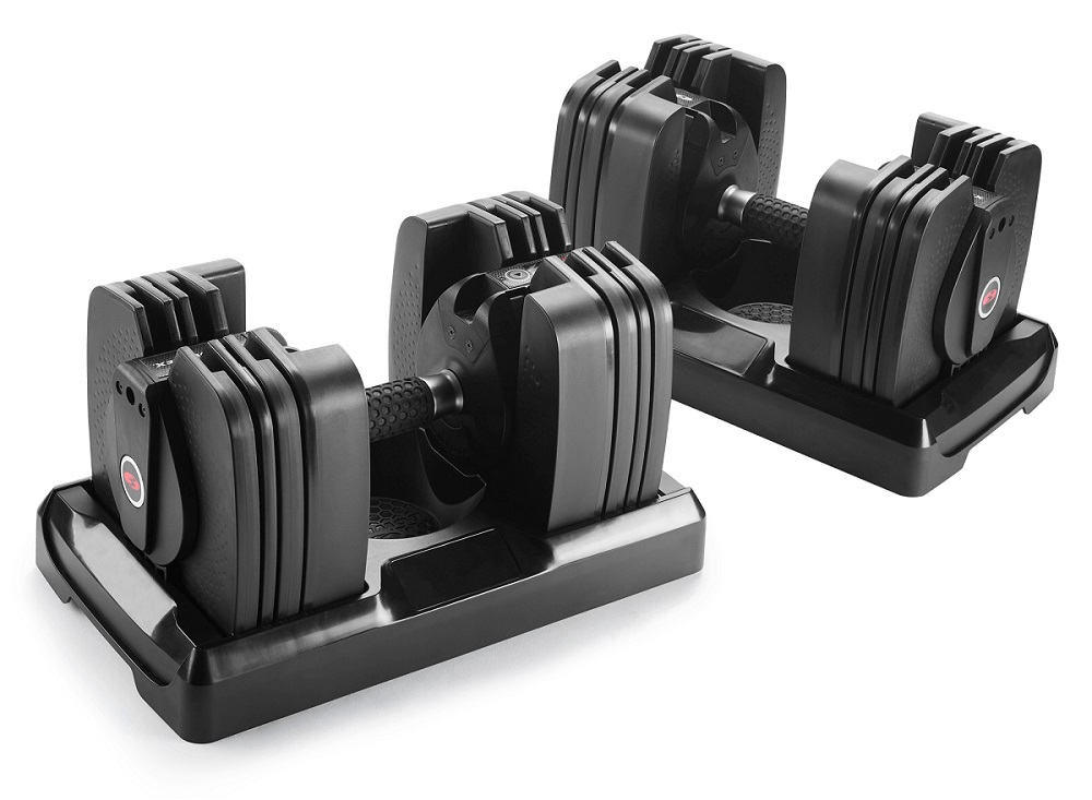 select-tech-560-dumbbells Five Essential Smart Home Upgrades for Your Workout Space