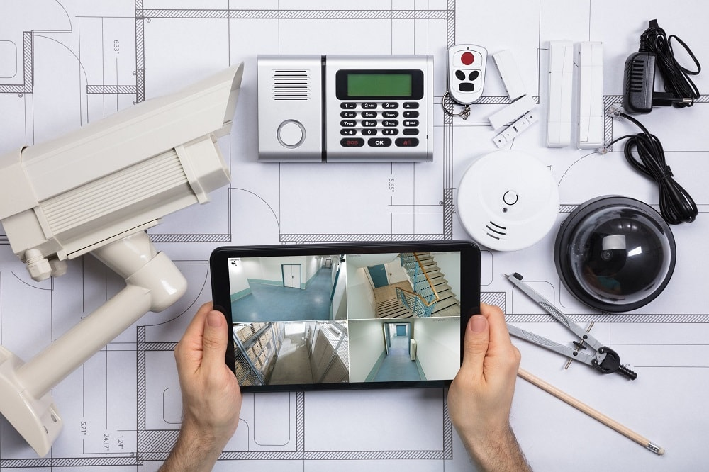 Smart-Home-Security-System-Installation How Smart Home Automation Can Help You Care for Elderly Loved ones