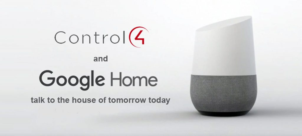 control4 google home
